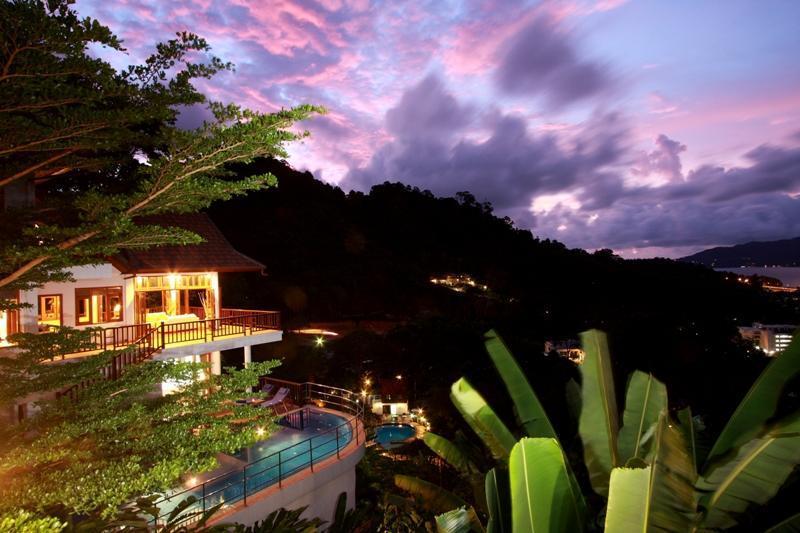 Patong Hill Estate 5 bedroom private pool villa with sea views of Patong Bay - Patong Hill Estate 5 bedroom villa - Patong - rentals