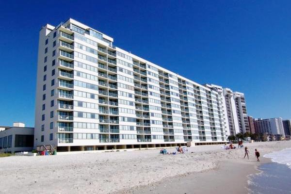 Sands Beach Club building - Sands Beach Club 2BR, oceanfront w/ pools/Jacuzzi! - Myrtle Beach - rentals