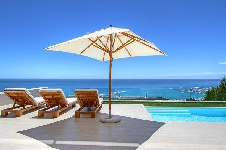 Sasso House - Impressive, Stylish Pool Villa Located on the Mountain - Image 1 - Camps Bay - rentals