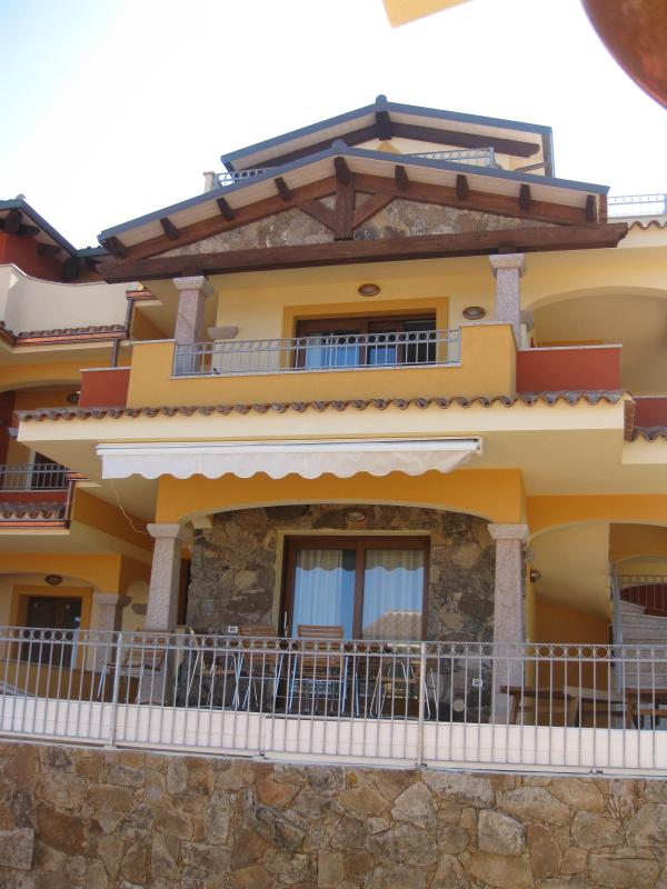 External Front View - Bran New Charming Apartment Overlooking The Sea - Castelsardo - rentals