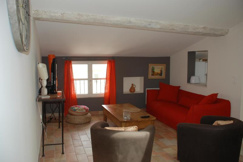 living room - Appartment for 7 persons at the bottom of the - Carcassonne - rentals