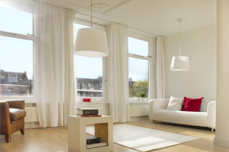 living room - Magnificent top floor duplex City Center 3 bdr 2 baths - Amsterdam - rentals