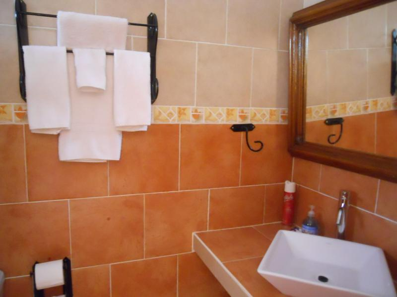 Clean bathrooms - Casa Madera Studio Rooms in Nuevo Vallarta - Nuevo Vallarta - rentals