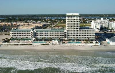 Aerial Photo of the Daytona Beach Resort & Conference Center (DBR) - City View Studio/921/Daytona Beach Resort & CC - Daytona Beach - rentals