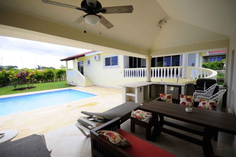 3 BDR villa with private BBQ area and pool - Image 1 - Sosua - rentals
