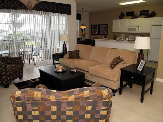 Living Room - WH5P2689ML Striking Disney Vacation Haven in Kissimmee - Orlando - rentals