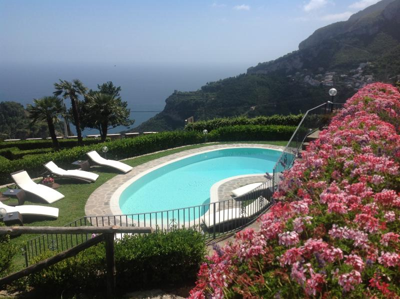 Villa Minuta - swimming pool - Charming Luxury Villa Amalfi Coast - Villa Minuta - Scala - rentals