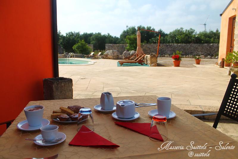 Masseria Saittole - Breakfast in the courtyard - B&B in Historical Farmhouse - Masseria with swimming pool - Carpignano Salentino - rentals