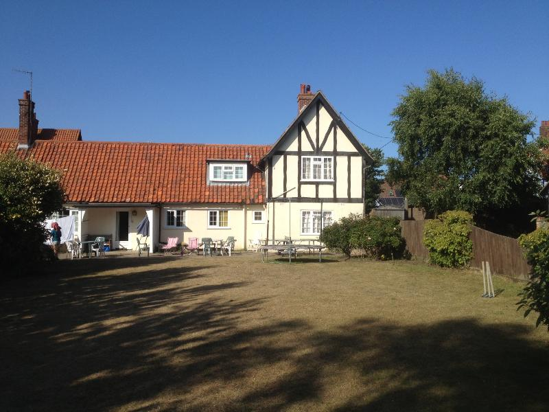 The house from the huge back garden - Westdene - Thorpeness - rentals