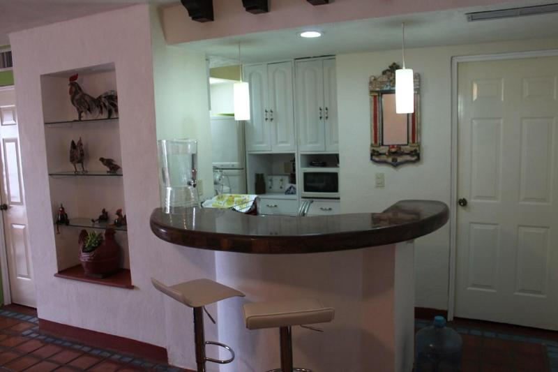 Kitchenette and Bar - Beautiful 3 Bdr condo in Marina Vallarta available for vacation rental - Puerto Vallarta - rentals