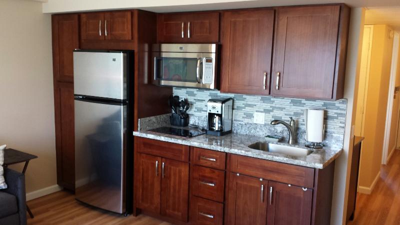 Beautiful renovated kitchen - Beautiful renovated 1 bedroom Waikiki Condo - Honolulu - rentals