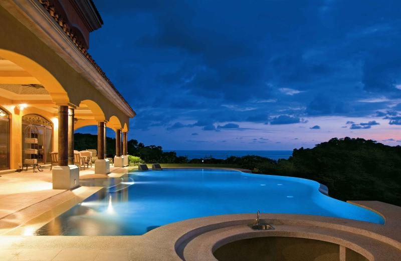 Pool at Sunset - Villa Paraiso Fall Special:  Name Your Price!!! - Dominical - rentals