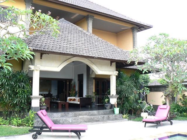 Outside entertaining - Discounted-  Villa Este 3 bdrm home away from home - Seminyak - rentals