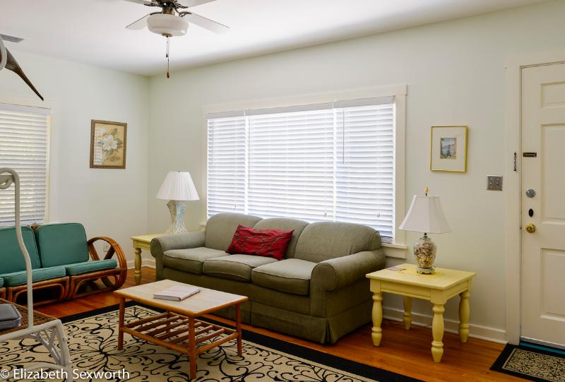 Living Room - Beach Cottage, Old-Florida Style! - Gulfport - rentals
