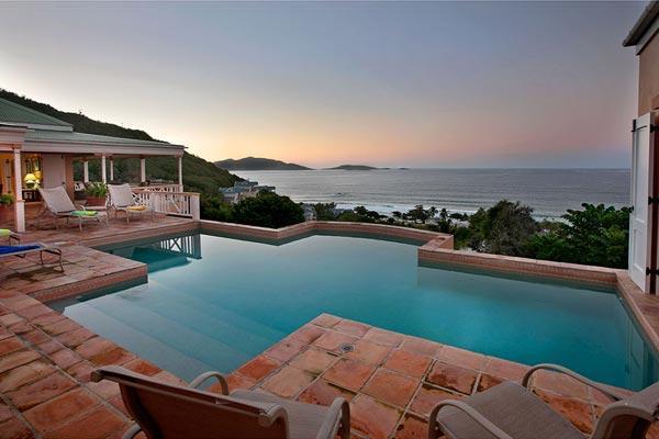 A spacious, flowing floor plan allows the ocean breeze to waft through this villa. MAT MUR - Image 1 - Long Bay - rentals