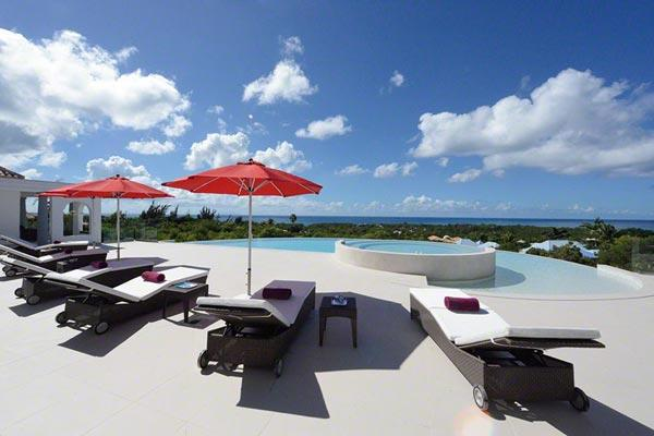 Incredible ocean view, pool, and top notch décor. C JUP - Image 1 - Terres Basses - rentals