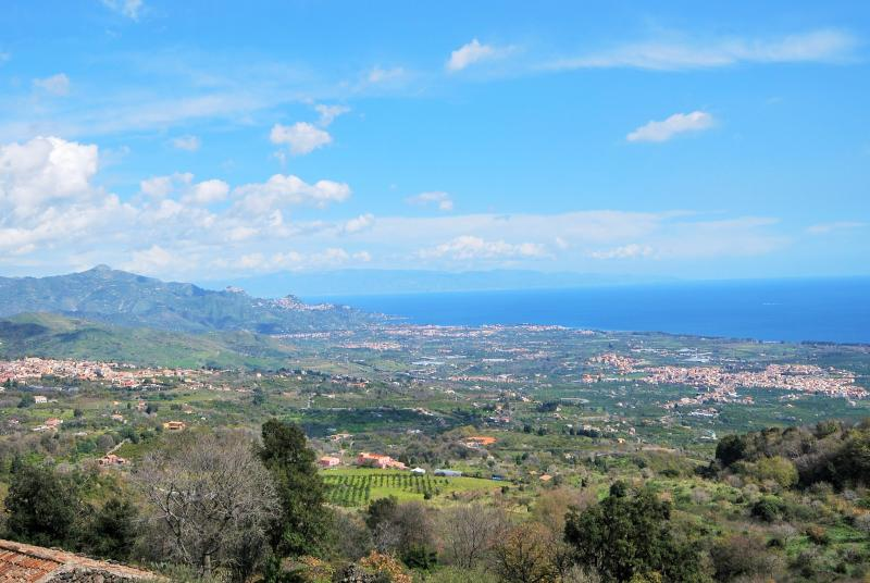 The panoramic view from The View, Sicily - The View, Sicily - Mascali - rentals