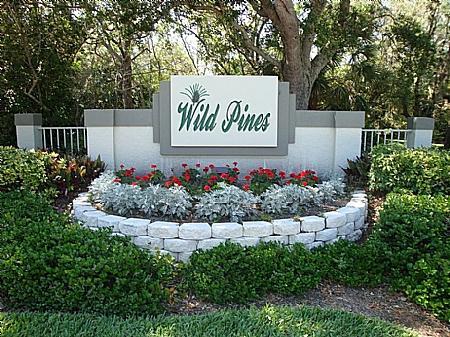 Wild Pines Entrance - Wild Pines - Bonita Bay C-306 - Bonita Springs - rentals