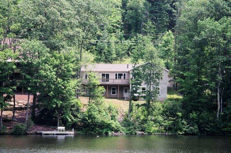 view from the lake - Comfortable lakefront home  near Tunkhannock , Pa. - Tunkhannock - rentals