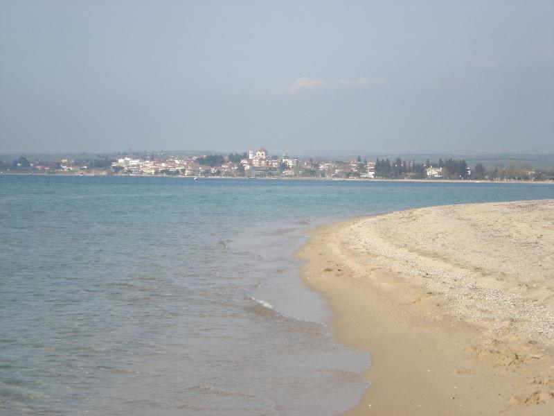 the the beautyfull large sandy beach - You can see the sea from your bed..!!! - Halkidiki - rentals