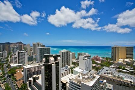 Royal Kuhio Beautiful 2bd/2bth/1prk Penthouse in Waikiki - Image 1 - Honolulu - rentals