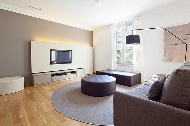 Living room barcelona apartment - B121 NEW ONE BEDROOM LUXURY - Barcelona - rentals