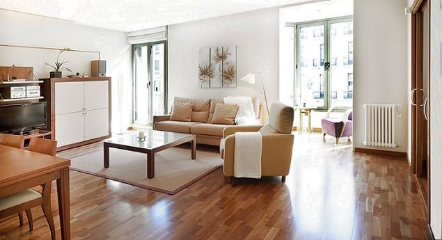 Living room - B341 LUXURY PLAZA CATALUNYA VIEWS - Barcelona - rentals