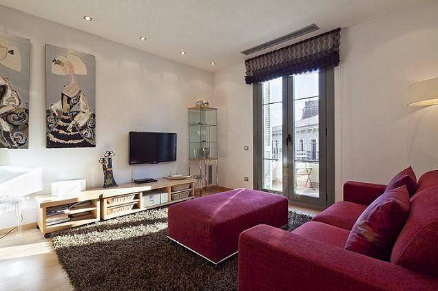 Living room - B347 THE GOLDEN NEIGHBORHOOD - Barcelona - rentals