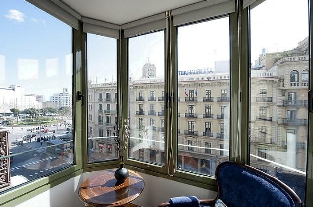 Living room - B357 II LUXURY PLAZA CATALUNYA VIEWS - Barcelona - rentals