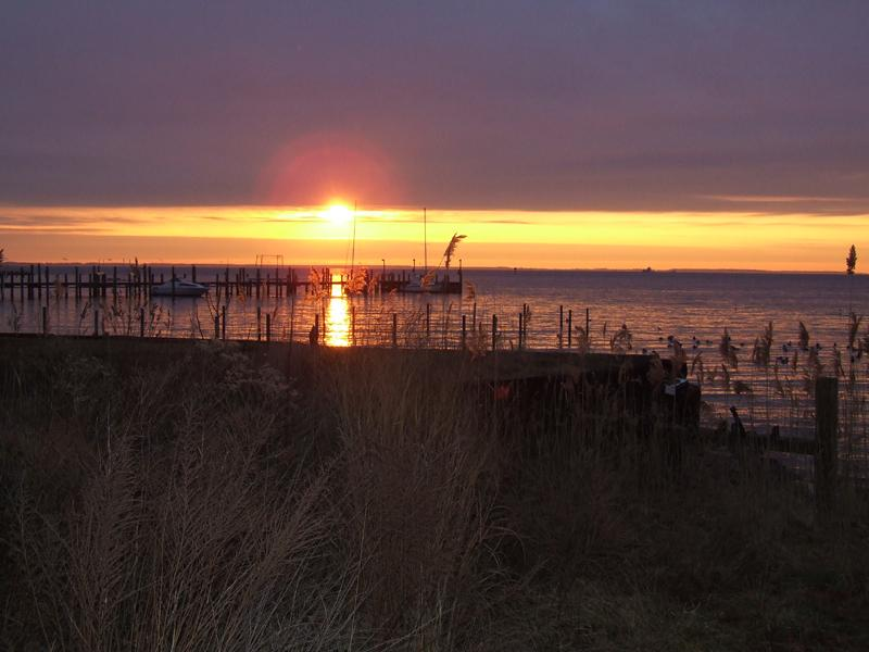 Stunning Chesapeake Bay Sunrises - Annapolis Crows Nest Cottage:  Chesapeake Bay View - Annapolis - rentals