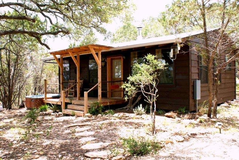 Romantic little cabin in the woods - Romantic cabin in the woods with private hot tub - Wimberley - rentals
