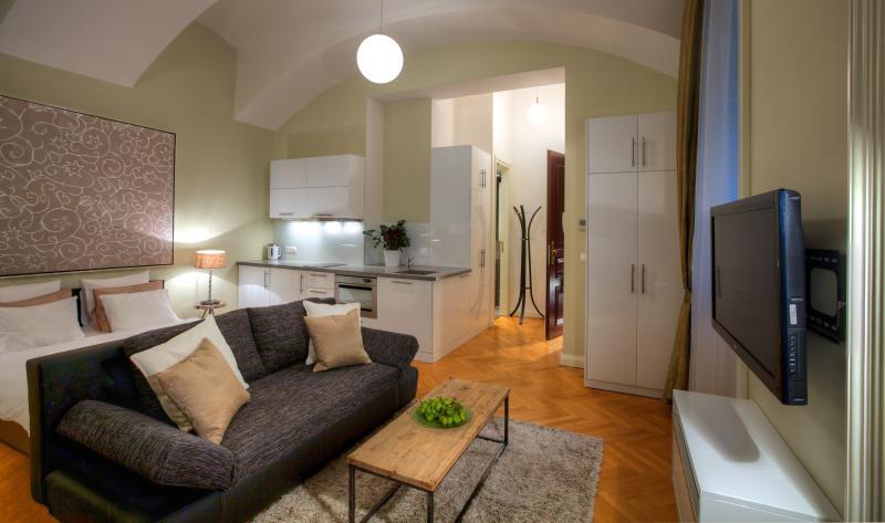 Courtyard Studio Apartment -sitting area - Courtyard Studio Apartment - Prague - rentals