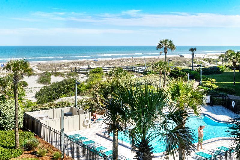 Swimming Pool - Surf & Racquet Club C102 - Fernandina Beach - rentals