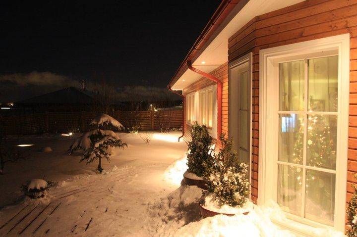 Winter night. - Perfect place for long holidays with family - Latvia - rentals