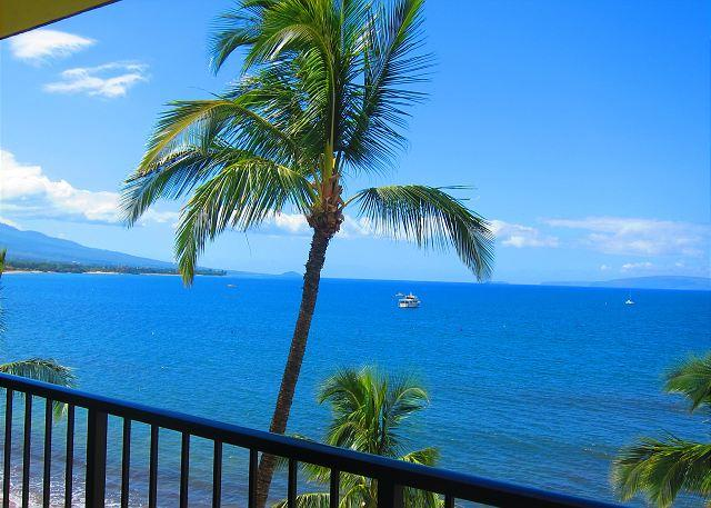 Sugar Beach Oceanfront Ocean View Penthouse 2/2 Great Rates! - Image 1 - Kihei - rentals