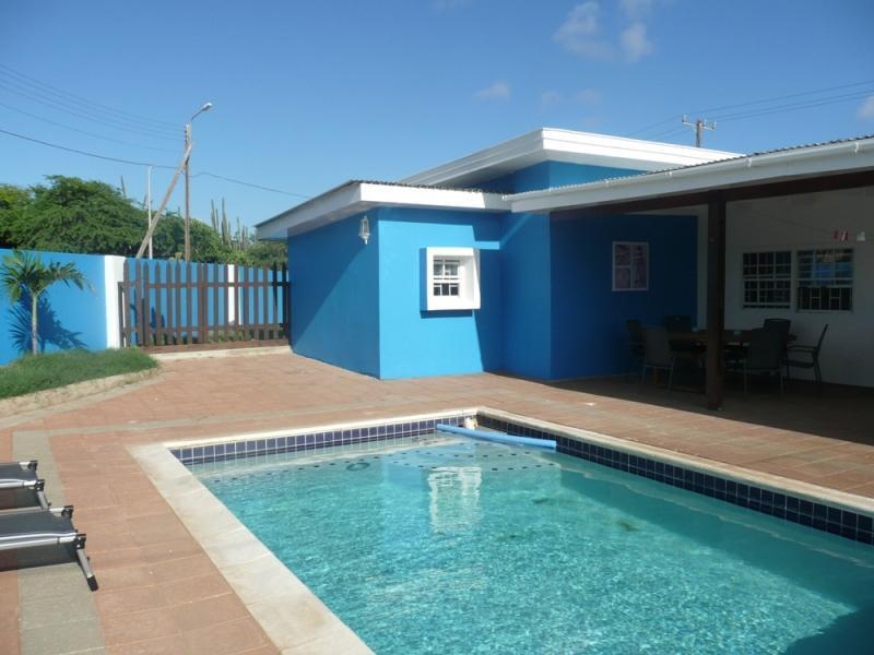 Casa Pelicano Bonaire - Pool Area - Casa Pelicano: Spacious Holiday Villa Private Pool - Kralendijk - rentals