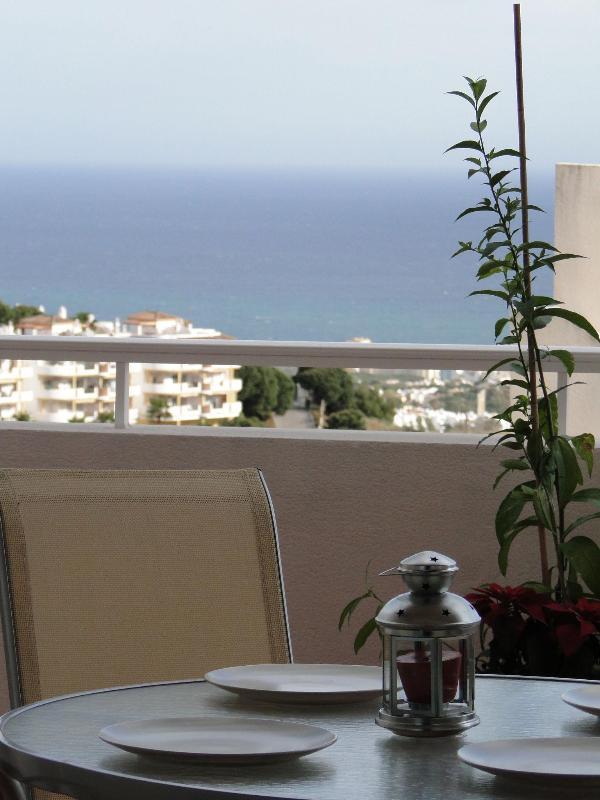 Terrace and views! - Lovely apartment, pool. sea views, BBQ, wifi. - Sitio de Calahonda - rentals