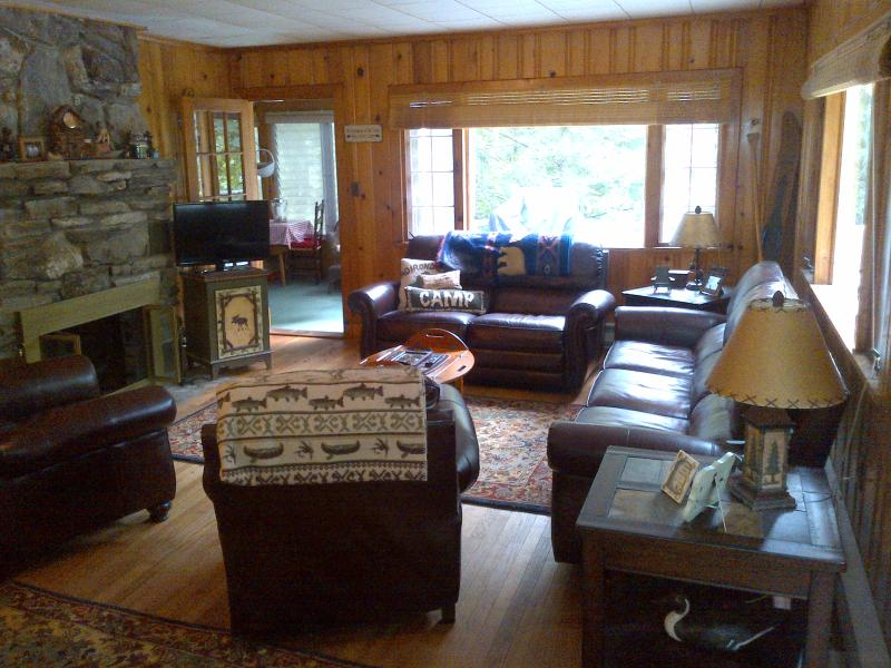 Welcome to our camp! - Charming 2BR cabin with private beach - Lake George - rentals