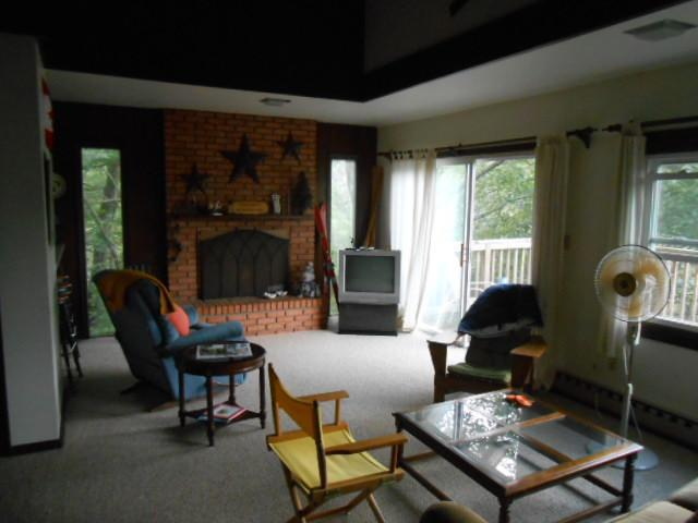 upstairs living area - Escape to the mountains of Virginia - Basye - rentals