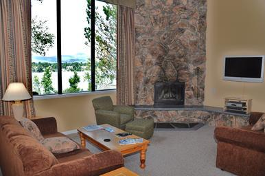 Living Room - Lake Placid Club Lodges - 2 Bedroom - Village Loc - Lake Placid - rentals