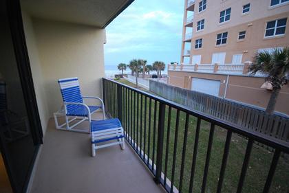 Balcony - Coronado Del Mar 21 - New Smyrna Beach - rentals