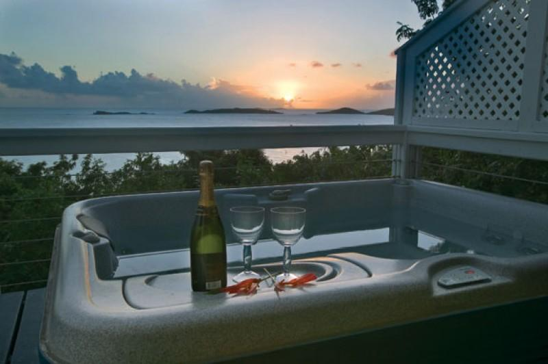 Relaxing at the end of the day - Pure Joy Cottage  - Romantic Getaway - Saint John - rentals