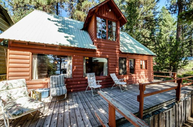 Dog-friendly cabin with lake views and dock on Payette Lake - Image 1 - McCall - rentals