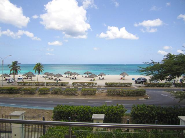 Your majestic view from your living area - Majestic View Three-bedroom condo - BG231-2 - Eagle Beach - rentals