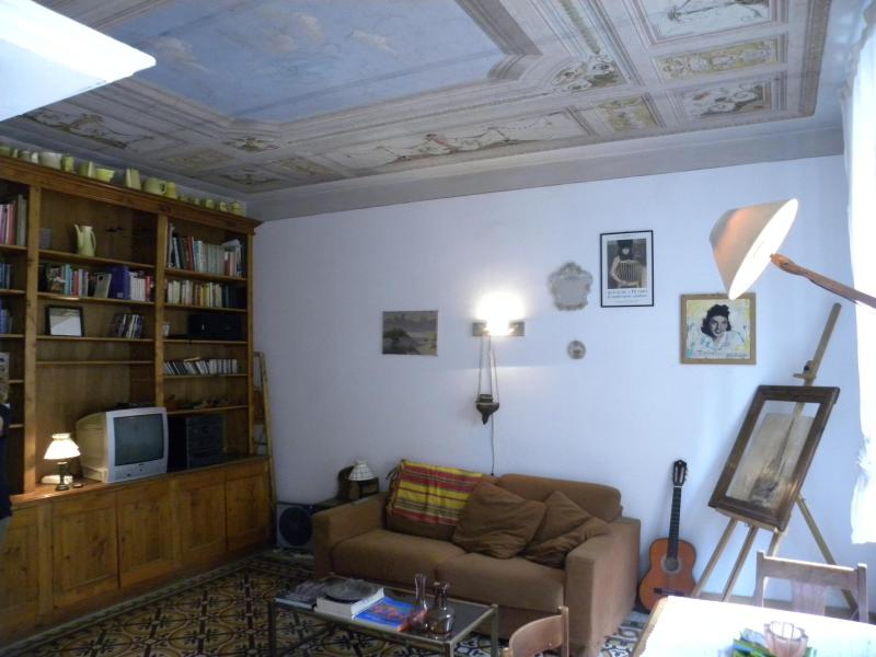 The dining room with a sofa-double bed - Vatican Fresco Flat - Rome - rentals