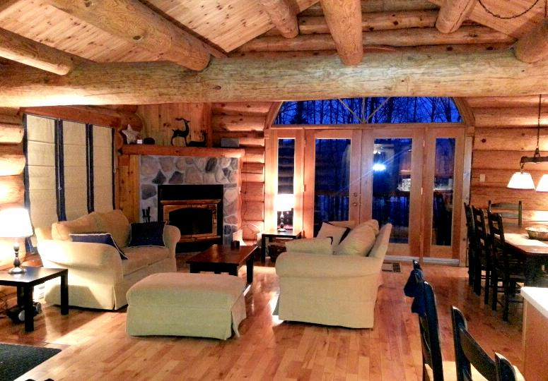 Private 3BR LOG HOME in Mont Tremblant! *WIFI - Image 1 - Mont Tremblant - rentals