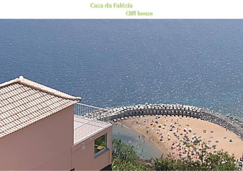 Cliff House - vista da casa sobre a falésia - CLIFF HOUSE - Casa da Falésia - Calheta - rentals