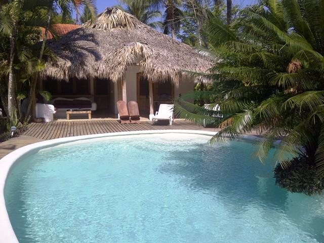 2 bdrms cottage+smaller one on other side of pool - Image 1 - Las Terrenas - rentals