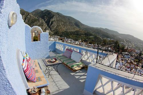Terrace - Suite with views over the mountains - Chefchaouen - rentals
