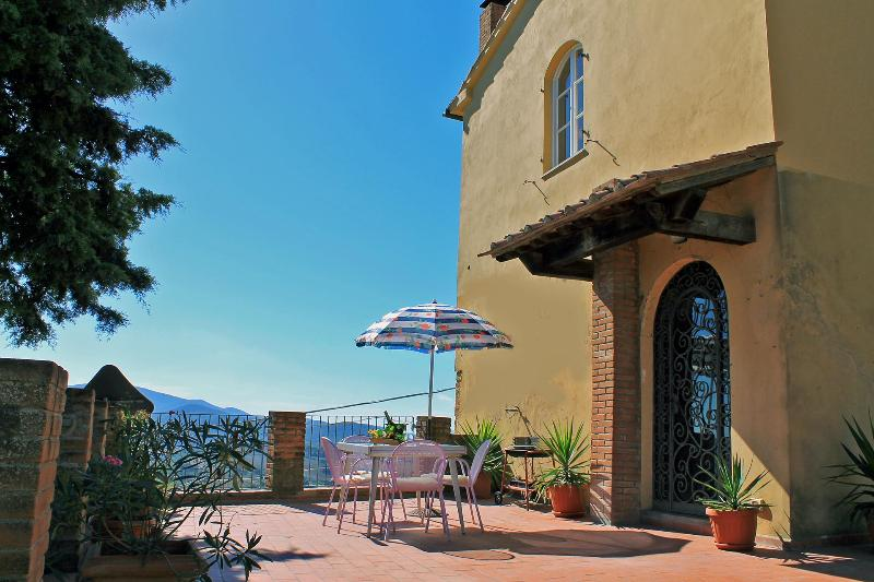 Large Town House, Beautiful View in Tuscany Heart - Image 1 - Guardistallo - rentals